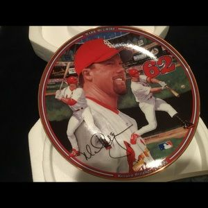 Mark McGwire collectors plate
